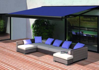 JBR Store coffre extérieur bannes projection vertical parasol protection solaire dickson sattler vachet acrylique 8